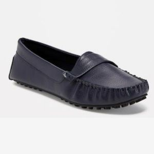 NWT Driving Moccasin Loafer Sz 7 Black COMFY
